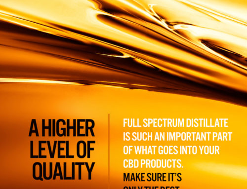 Full Spectrum Distillate is a higher level of quality